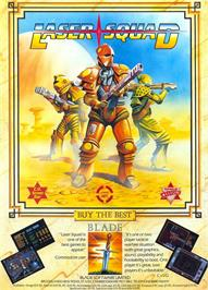Advert for Laser Squad on the Commodore Amiga.