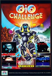 Advert for League Challenge on the Commodore 64.