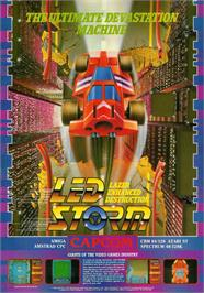 Advert for Led Storm on the Commodore Amiga.