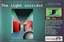 Advert for Light Corridor on the Atari ST.