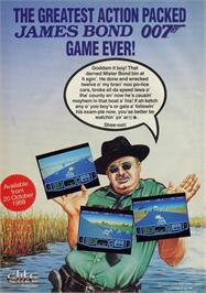Advert for Live and Let Die on the Atari ST.