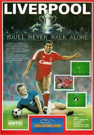 Advert for Liverpool: The Computer Game on the Atari ST.