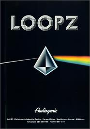 Advert for Loopz on the Atari ST.