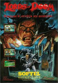 Advert for Lords of Doom on the Atari ST.
