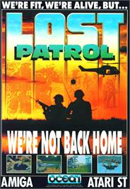 Advert for Lost Patrol on the Commodore Amiga.