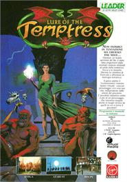 Advert for Lure of the Temptress on the Atari ST.