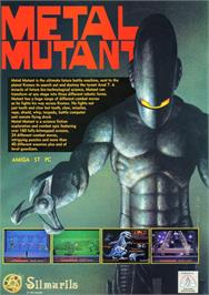 Advert for Metal Mutant on the Atari ST.