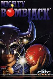 Advert for Mighty Bombjack on the Nintendo NES.