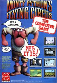 Advert for Monty Python's Flying Circus on the Atari ST.