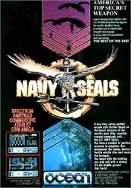 Advert for Navy Seals on the Commodore Amiga.