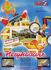 Advert for Neighbours on the Atari ST.