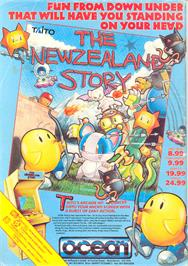 Advert for New Zealand Story on the Nintendo NES.