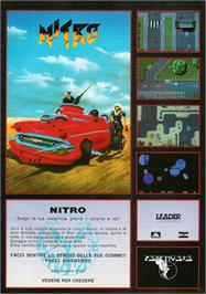 Advert for Nitro on the Commodore Amiga.