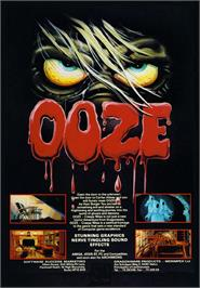 Advert for Ooze: Creepy Nites on the Commodore Amiga.