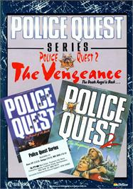 Advert for Police Quest 2: The Vengeance on the Commodore Amiga.