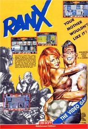 Advert for Ranx on the Atari ST.