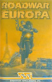 Advert for Roadwar Europa on the Atari ST.