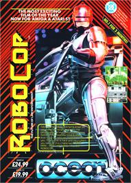 Advert for Robocop on the Arcade.