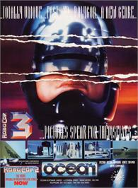 Advert for Robocop 3 on the Sega Genesis.