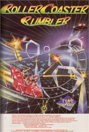 Advert for Roller Coaster Rumbler on the Commodore Amiga.