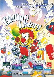 Advert for Rolling Ronny on the Commodore 64.