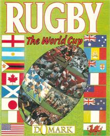 Advert for Rugby: The World Cup on the Commodore 64.