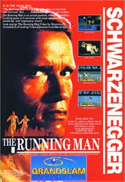 Advert for Running Man on the Amstrad CPC.