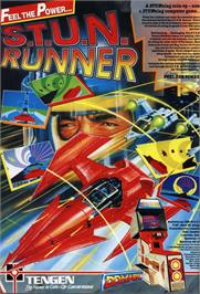 Advert for S.T.U.N. Runner on the Atari ST.