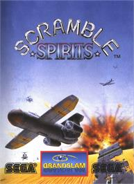 Advert for Scramble Spirits on the MSX 2.