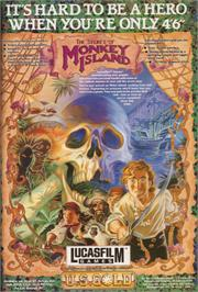 Advert for Secret of Monkey Island on the ScummVM.