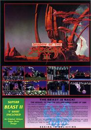 Advert for Shadow of the Beast 2 on the Sega Nomad.