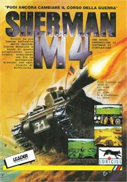 Advert for Sherman M4 on the Atari ST.