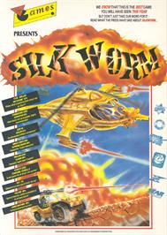 Advert for Silk Worm on the Atari ST.