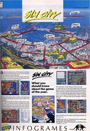 Advert for Sim City on the Acorn Electron.