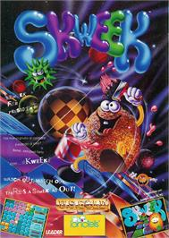 Advert for Skweek on the Amstrad CPC.