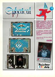 Advert for Spherical on the Commodore Amiga.