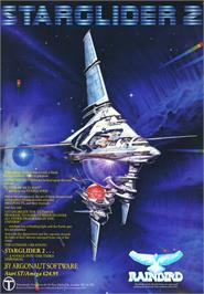 Advert for Starglider 2 on the Commodore Amiga.