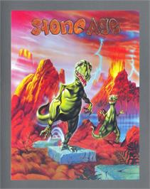 Advert for Stoneage on the Atari ST.