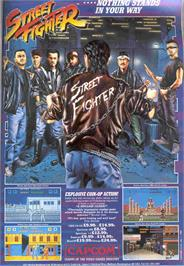 Advert for Street Fighter on the NEC PC Engine CD.