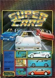 Advert for Super Cars on the Atari ST.