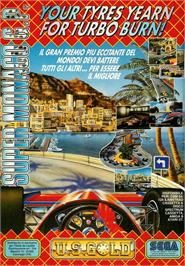 Advert for Super Monaco GP on the Atari ST.