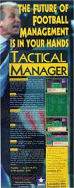 Advert for Tactical Manager on the Commodore Amiga.
