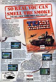 Advert for Team Yankee on the Atari ST.