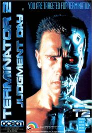 Advert for Terminator 2 - Judgment Day on the Commodore Amiga.