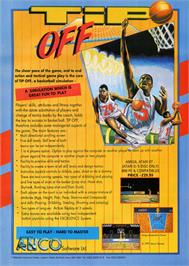 Advert for Tip Off on the Commodore Amiga.