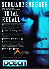 Advert for Total Recall on the Atari ST.