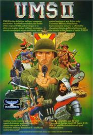 Advert for UMS II: Nations at War on the Atari ST.