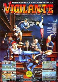 Advert for Vigilante on the Atari ST.
