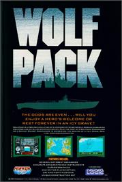 Advert for WolfPack on the Atari ST.