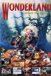 Advert for Wonderland on the Atari ST.